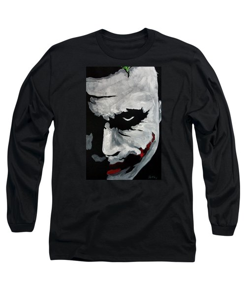 Ledger's Joker Long Sleeve T-Shirt