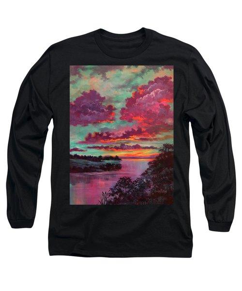 Legend Of A Sunset Long Sleeve T-Shirt