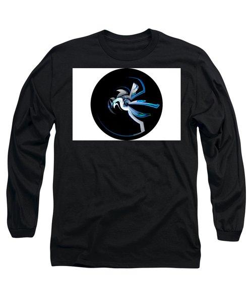 Legendary Horse Pegasus Long Sleeve T-Shirt by Thibault Toussaint