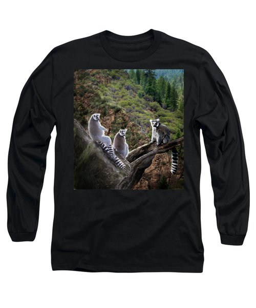 Lemur Family Long Sleeve T-Shirt