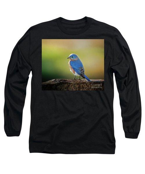 Lenore's Bluebird Long Sleeve T-Shirt