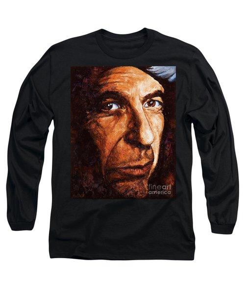 Leonard Cohen Long Sleeve T-Shirt