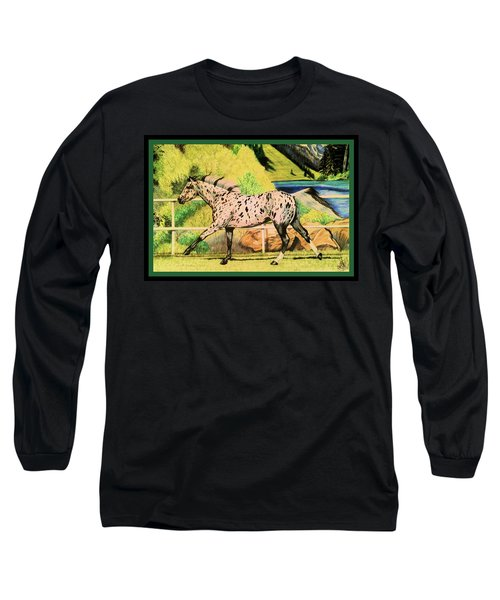 Leopard Appaloosa - Dream Horse Series Long Sleeve T-Shirt