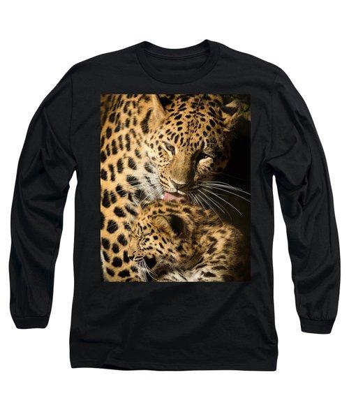 Leopard Cub Love Long Sleeve T-Shirt