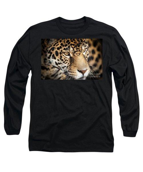 Leopard Face Long Sleeve T-Shirt