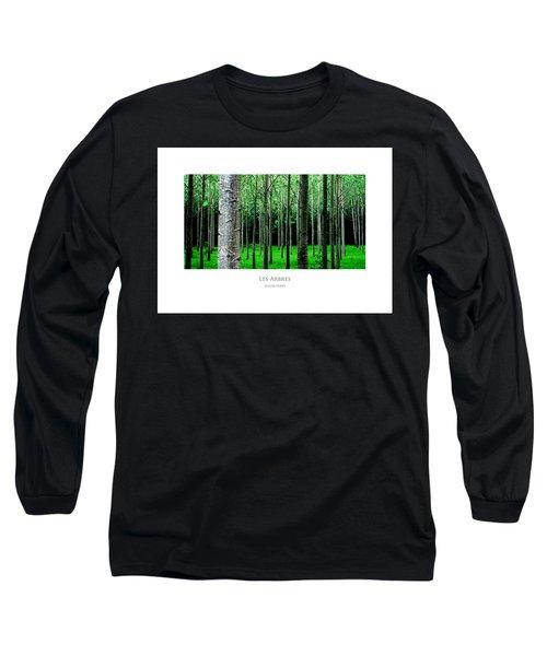 Les Arbres Long Sleeve T-Shirt