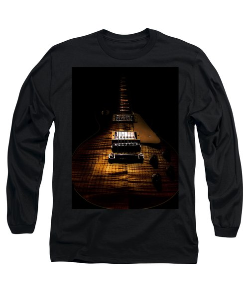 Burst Top Guitar Spotlight Series Long Sleeve T-Shirt