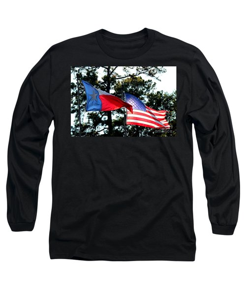 Long Sleeve T-Shirt featuring the photograph Let Freedom Ring by Kathy  White