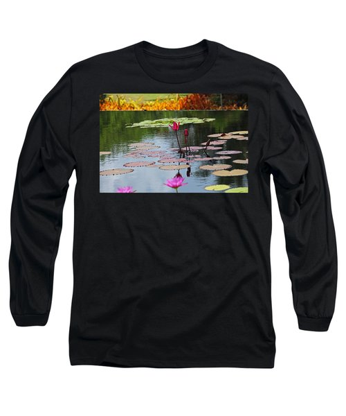 Long Sleeve T-Shirt featuring the photograph Let The Music Lift You by Michiale Schneider
