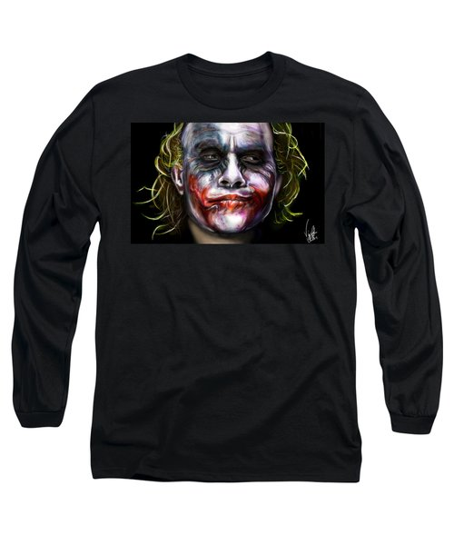 Let's Put A Smile On That Face Long Sleeve T-Shirt by Vinny John Usuriello