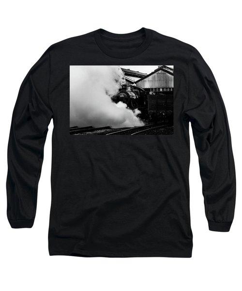 Letting Off Steam Long Sleeve T-Shirt by Ken Brannen