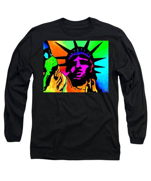 Liberty Of Colors - Saturated Hue Long Sleeve T-Shirt