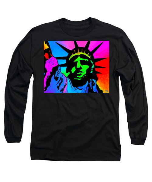 Liberty Of Colors - Saturated Long Sleeve T-Shirt