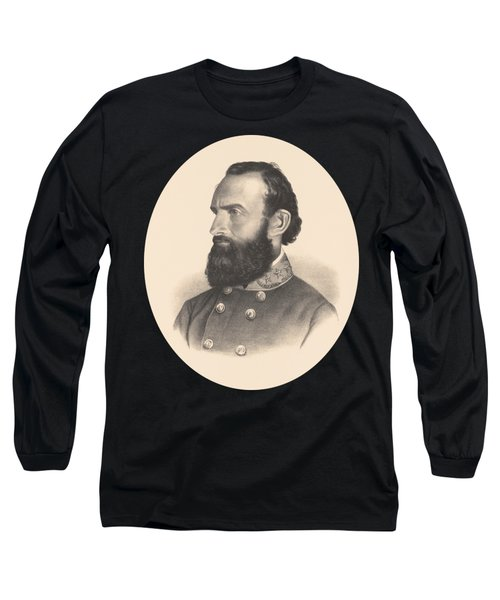General Stonewall Jackson Portrait - Eight Long Sleeve T-Shirt