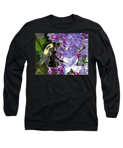 Life Among The Lilacs Long Sleeve T-Shirt
