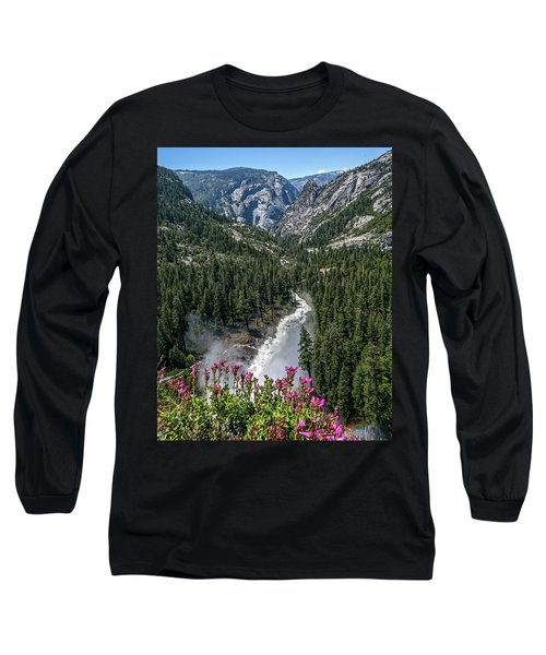 Life Line Of The Valley Long Sleeve T-Shirt by Ryan Weddle