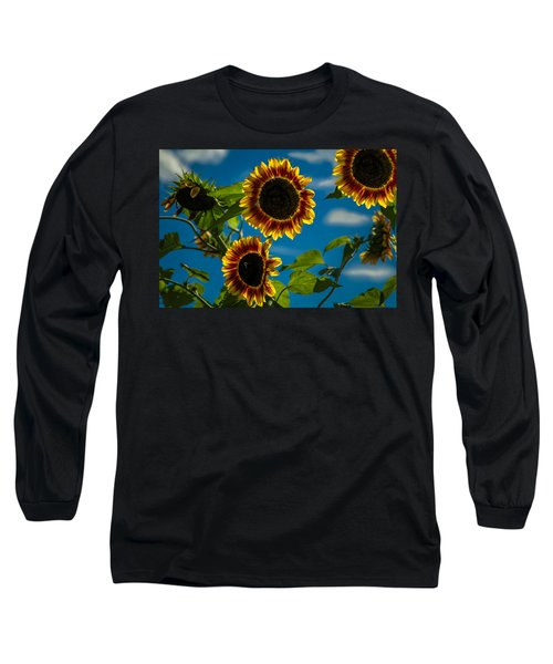 Long Sleeve T-Shirt featuring the photograph Life Of A Bumble Bee by Jason Moynihan