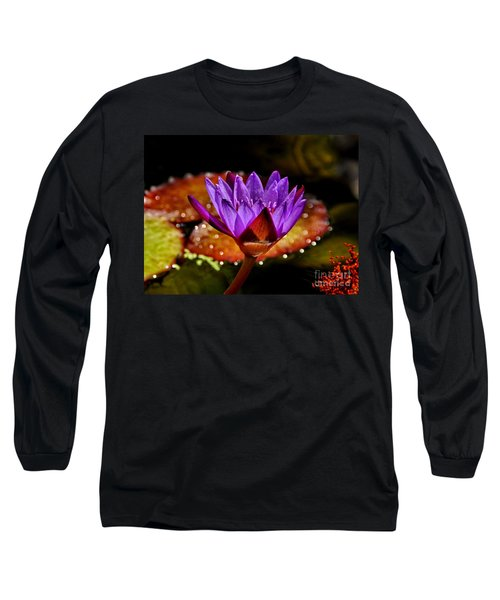 Life On The Pond 2 Long Sleeve T-Shirt by Andrea Kollo