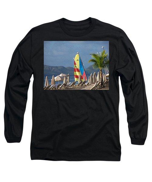 Life On The Shore Long Sleeve T-Shirt