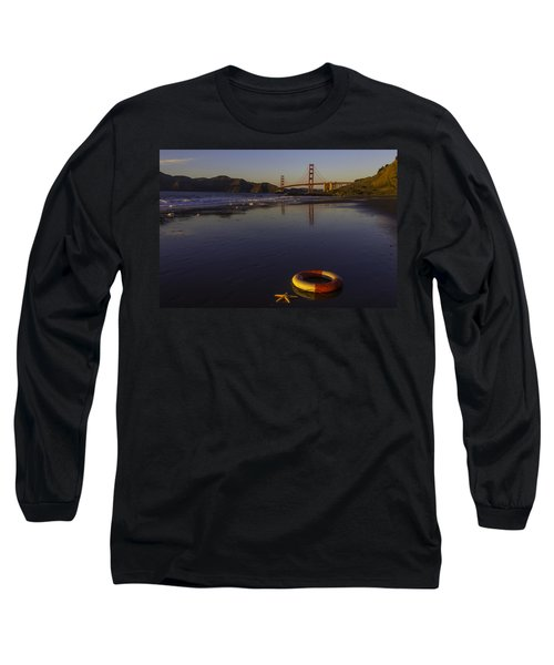 Life Ring And Starfish Long Sleeve T-Shirt