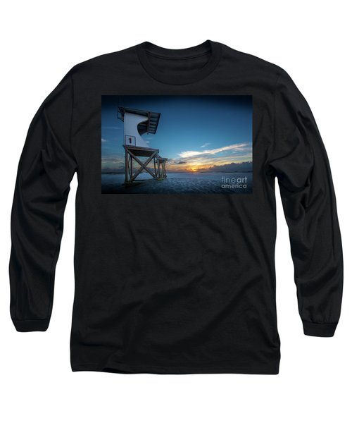 Long Sleeve T-Shirt featuring the photograph Lifeguard by Brian Jones