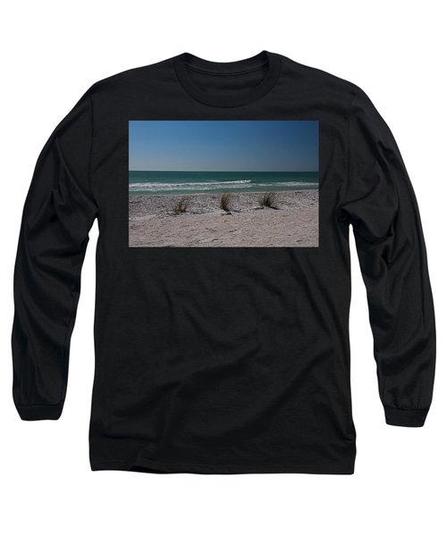 Long Sleeve T-Shirt featuring the photograph Life's A Beach by Michiale Schneider
