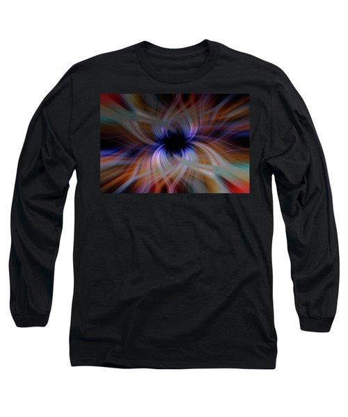 Light Abstract 5 Long Sleeve T-Shirt