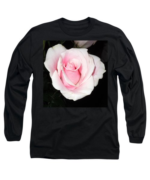Light Pink Rose Long Sleeve T-Shirt