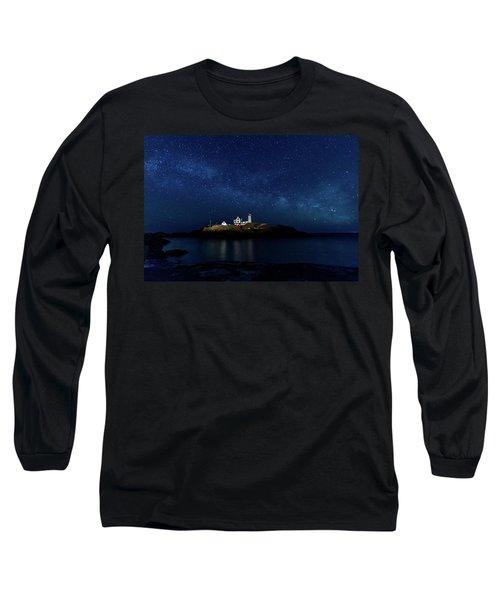 Light Up Nubble Lighthouse Long Sleeve T-Shirt