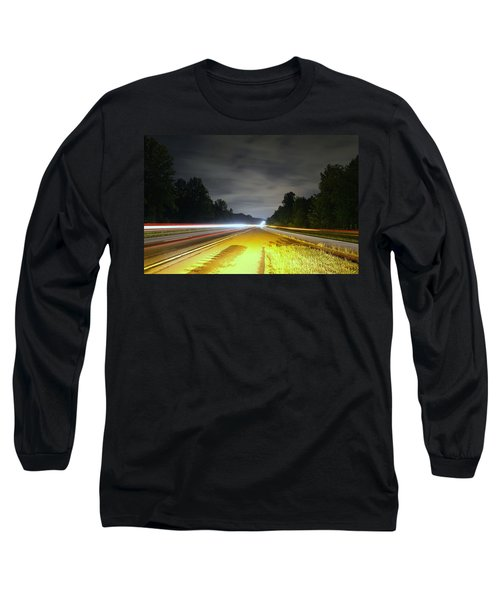 Long Sleeve T-Shirt featuring the photograph Lightworks by Alex Grichenko