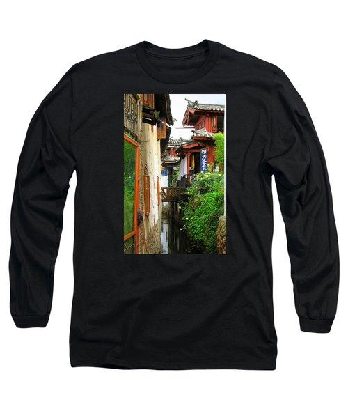 Lijiang Back Canal Long Sleeve T-Shirt