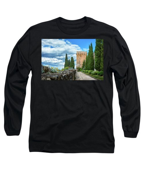 Like A Fortress In The Sky Long Sleeve T-Shirt