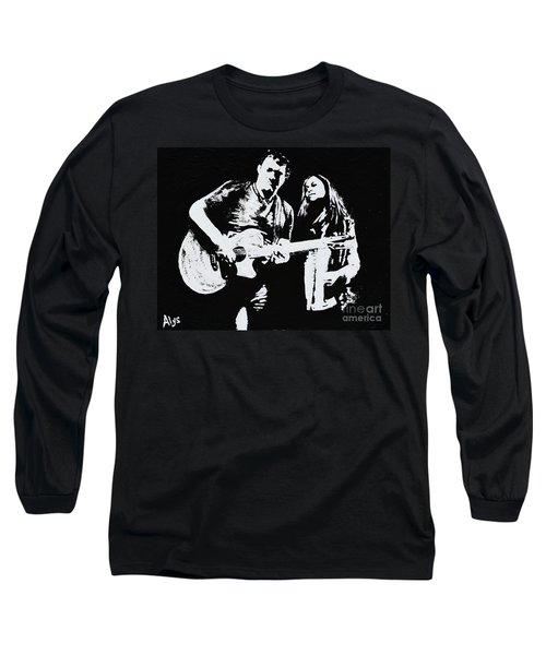Like Johnny And June Long Sleeve T-Shirt by Alys Caviness-Gober
