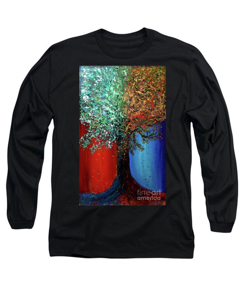 Like The Changes Of The Seasons Long Sleeve T-Shirt by Ania M Milo