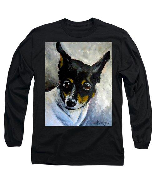 Lil Rat Terrier Long Sleeve T-Shirt