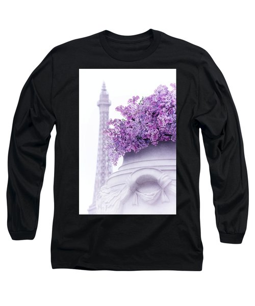 Lilac Tales Long Sleeve T-Shirt by Iryna Goodall