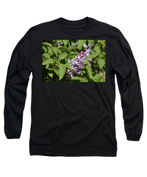 Long Sleeve T-Shirt featuring the photograph Lilacs 5551 by Antonio Romero
