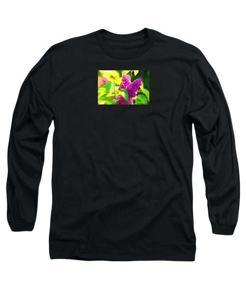 Long Sleeve T-Shirt featuring the photograph Lilacs by Susanne Van Hulst