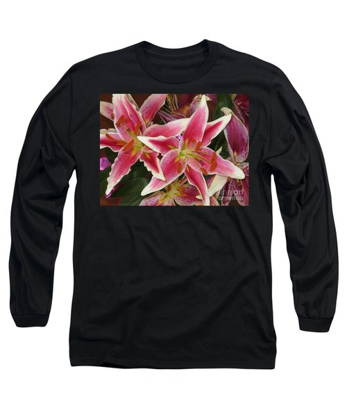Lilies Long Sleeve T-Shirt by Tim Townsend