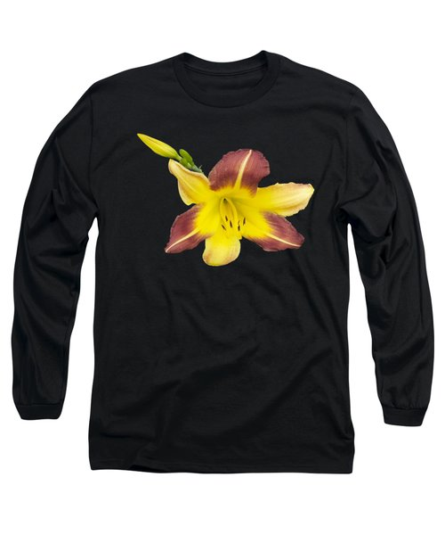 Lily And Bud 2 Long Sleeve T-Shirt by Mike Breau
