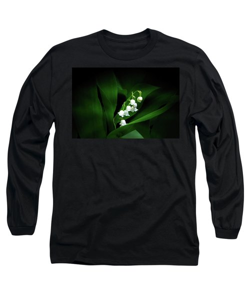 Lily Of The Valley Long Sleeve T-Shirt by Judy Johnson