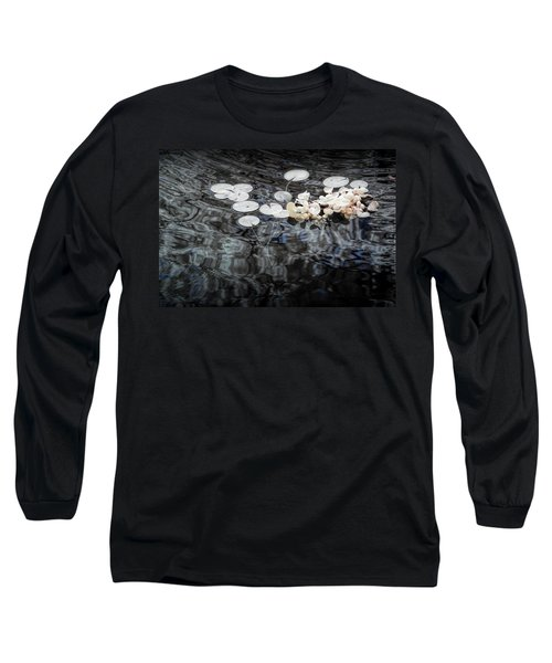 Lily Pads In Infrared Long Sleeve T-Shirt