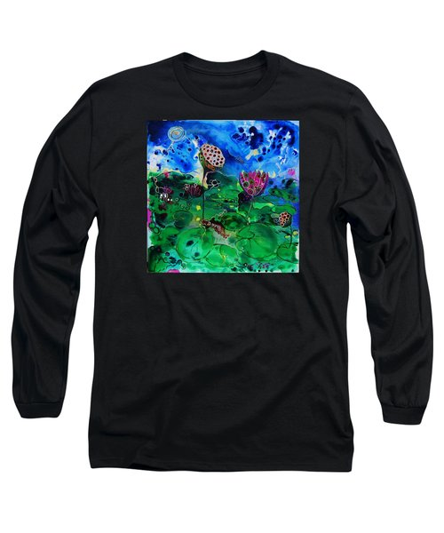 Lily Pops Long Sleeve T-Shirt by Susan Curtin