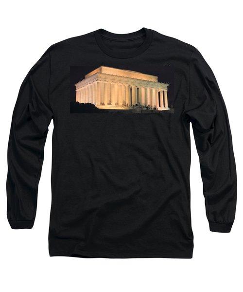 Lincoln Memorial Long Sleeve T-Shirt