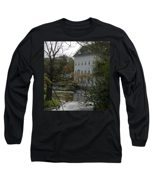 Linden Mill Pond Long Sleeve T-Shirt by Tara Lynn
