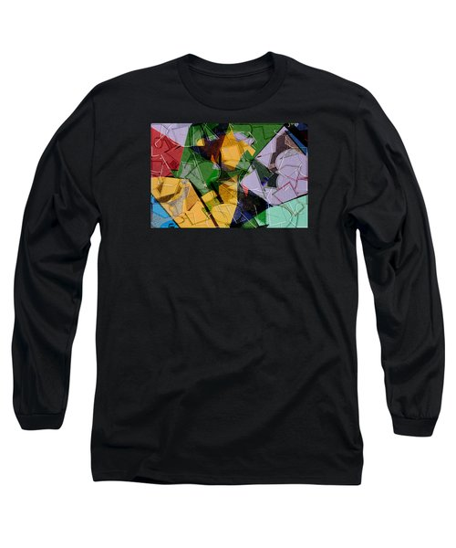 Linear Long Sleeve T-Shirt by Don Gradner