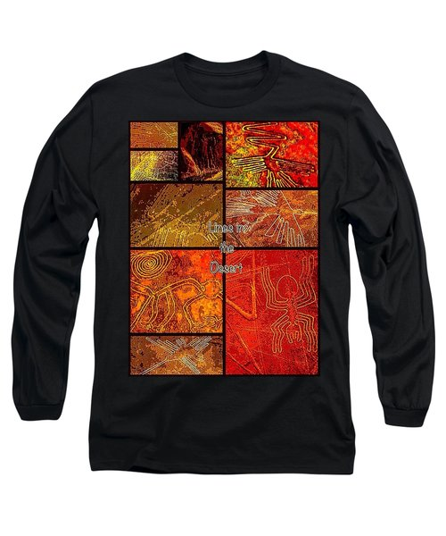 Lines In The Desert Long Sleeve T-Shirt