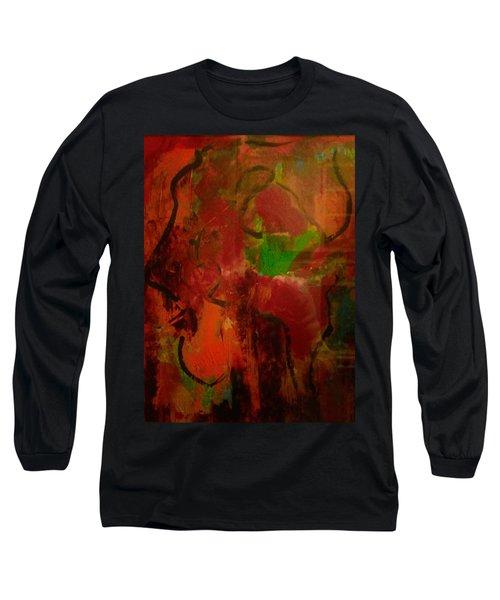 Lion Proile Long Sleeve T-Shirt