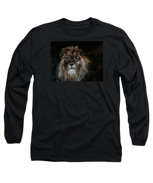 Sargas The Lion Long Sleeve T-Shirt by Barbie Batson