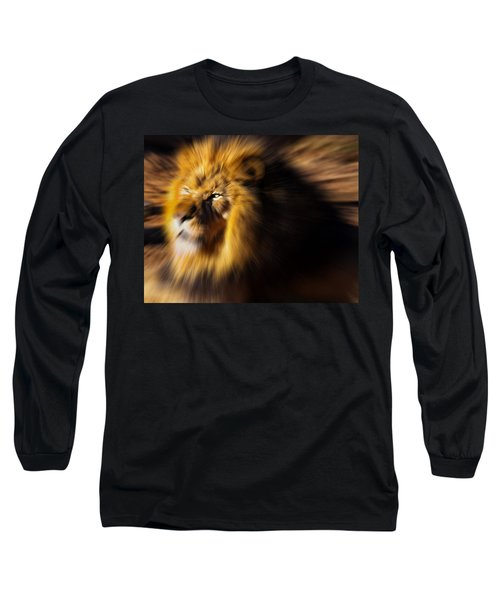 Lion The King Is Comming Long Sleeve T-Shirt